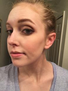 half w makeup