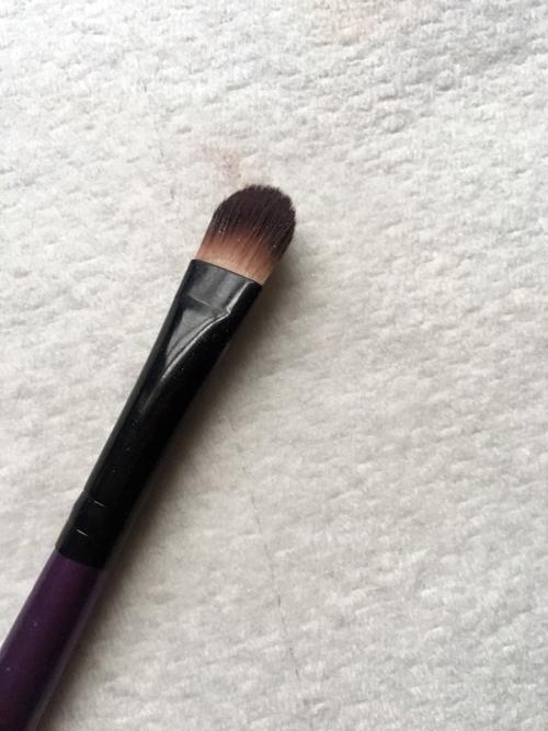 dirty brush