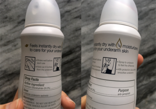 spray directions